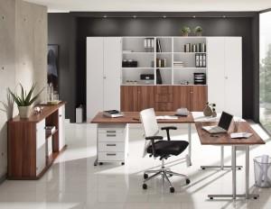 moderner MDF-Patten Schreibtisch