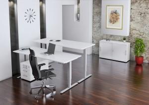 Steh und sitz Schreibtisch
