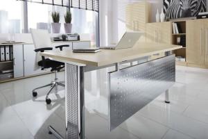 Sichtblende als Schreibtisch-Accessoire